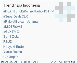 Trend Alert: 'Cikampek'. More trends at https://t.co/OMCuQPRWwL #trndn...