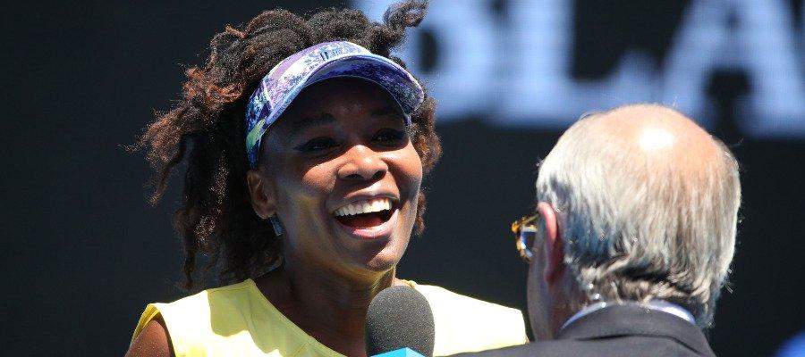 Retiran a un comentarista del Open de Australia por comparar a Venus W...