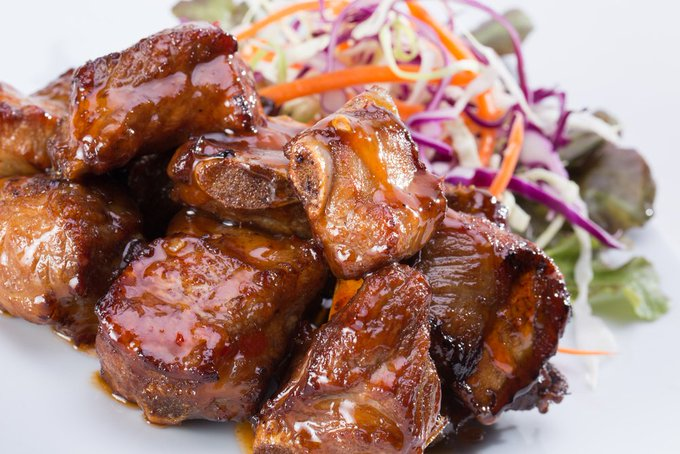 Instant Pot Bite Sized BBQ Pork Ribs
