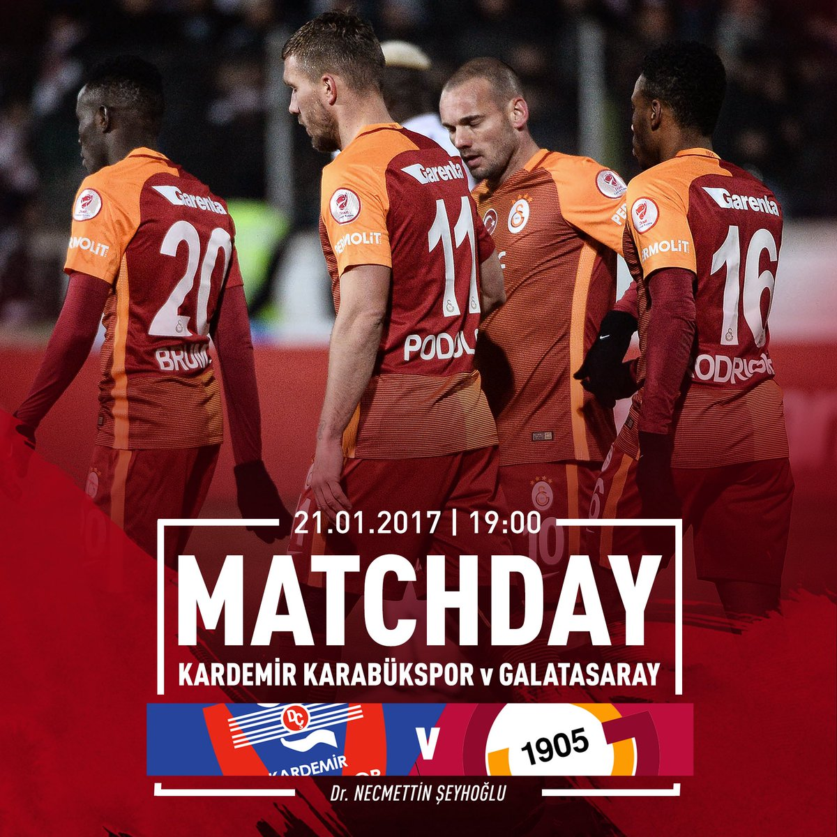 🔥 MATCHDAY! 🏆 Spor Toto Super League  ⚽️ Karabükspor - #Galatasaray  ⌚...