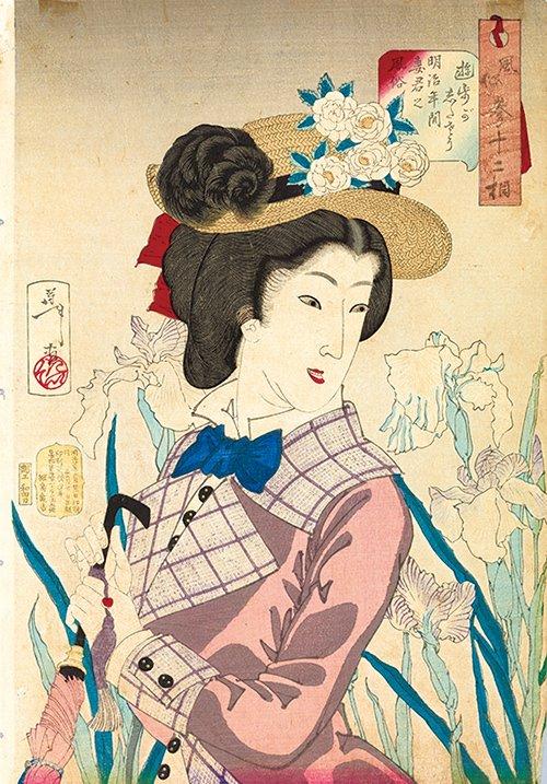 「ファッションとアート 麗しき東西交流」展 横浜美術館にて、ジャポニスムに影響を受けたシャネルの服も…
