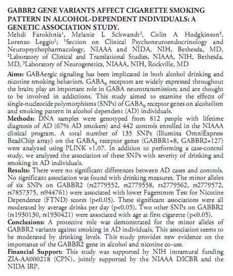 Baclofen Info on Twitter GABBR2 gene variants affect  ~ Baclofen Hiccups