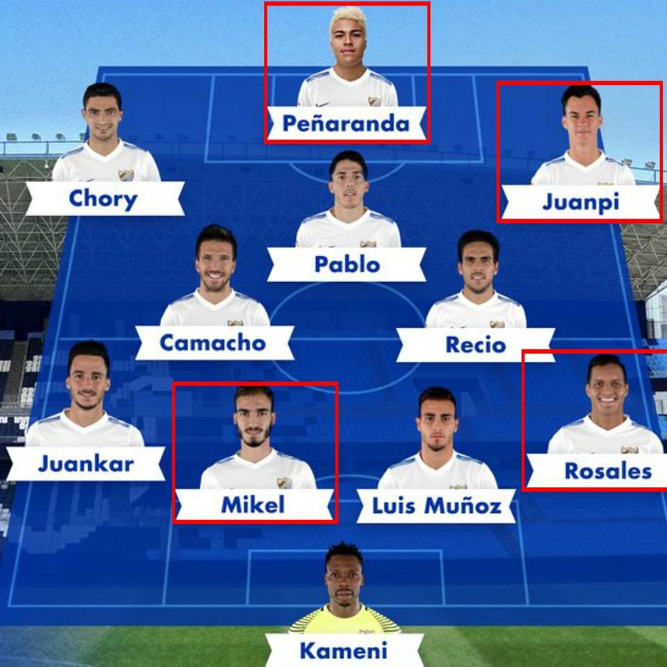 Peñaranda, Juanpi, Mikel y Rosales serán TITULARES ante Real Madrid. J...