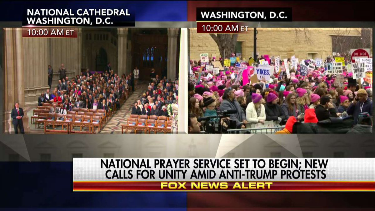 National Prayer Service set to begin; new calls for unity amid anti-@P...