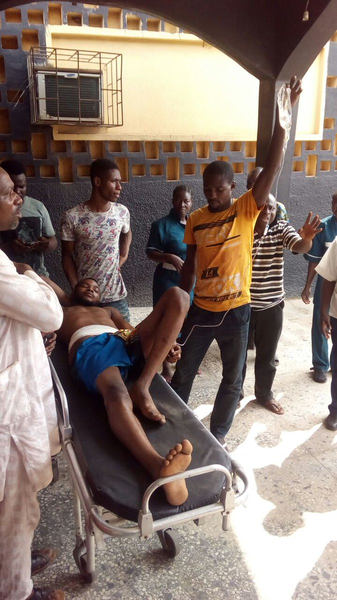 Police Shoot UNIOSUN Students While Playing Football