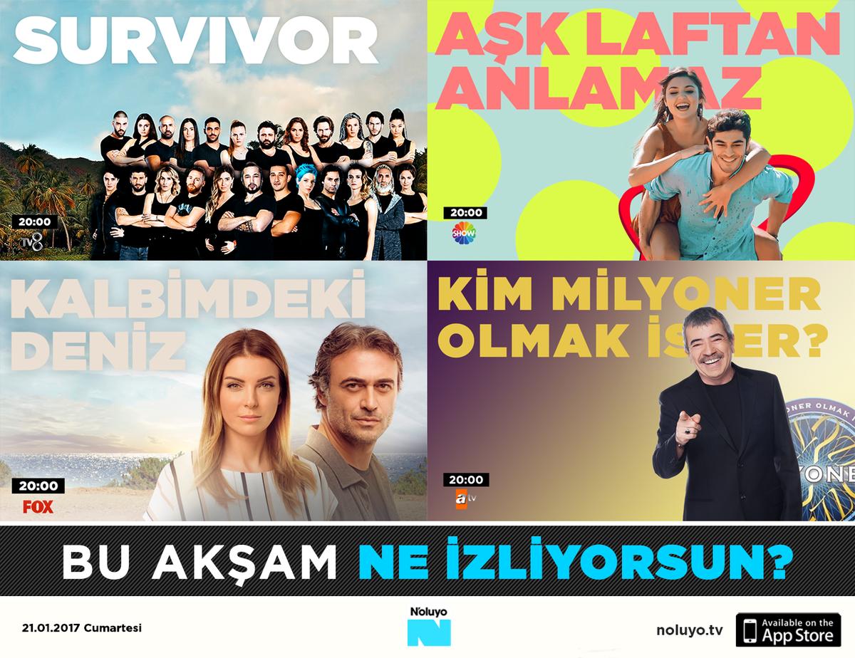 Aşk, eğlence, dram... Senin tercihin hangisi? 📺👀 #Survivor #AşkLaftanA...