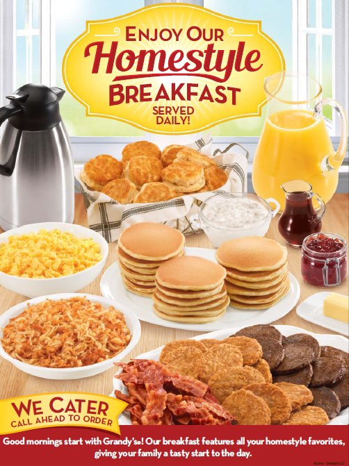 grandy s on twitter we have exactly what you are craving for rh twitter com grandy's breakfast buffet cost grandy's breakfast buffet time