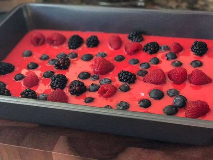 Creamy Fruit Bars Recipe To Celebrate As Snack Or Dessert #RecipeIdeas