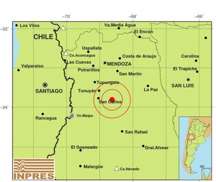 Un sismo de 4.6 grados se sintió en Mendoza https://t.co/RbUf4OPFQK ht...