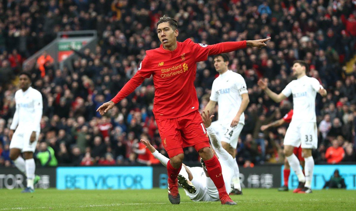Lances de Liverpool 2x3 Swansea - Premier League 16-17