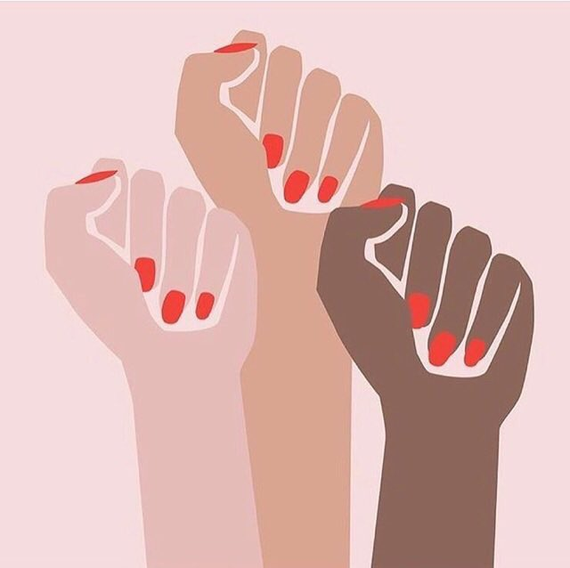 Unity. Protection. Power. Progress. WOMEN RISE UP! Getting ready to ma...