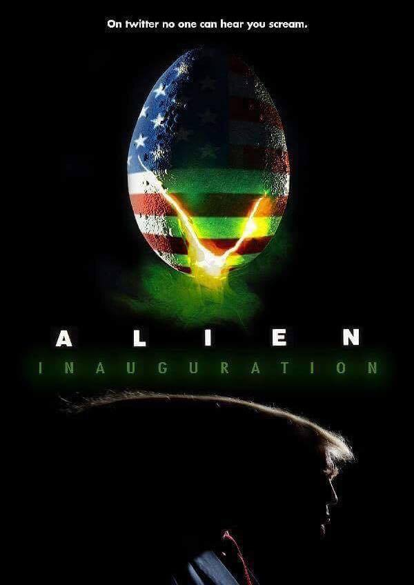 Sur Twitter, personne ne vous entend hurler ! #Alien #Trump2017 <br>http://pic.twitter.com/FigfSEruGQ