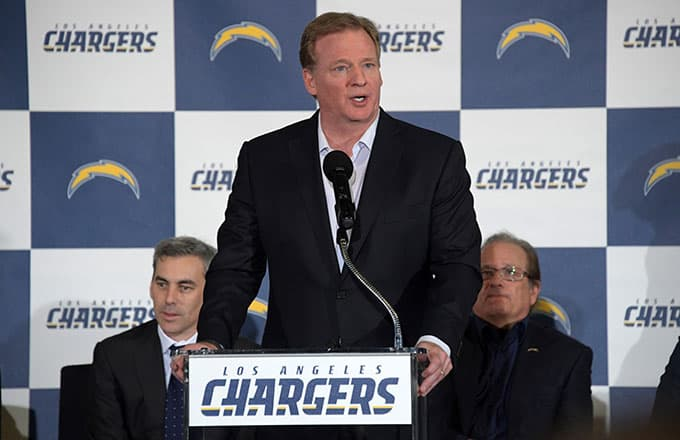 NFL owners are so upset with the Chargers' move to L.A., they already...