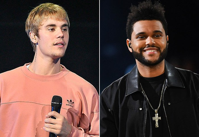 "Justin Bieber calls The Weeknd\'s music ""wack"" following Selena Gomez kiss"