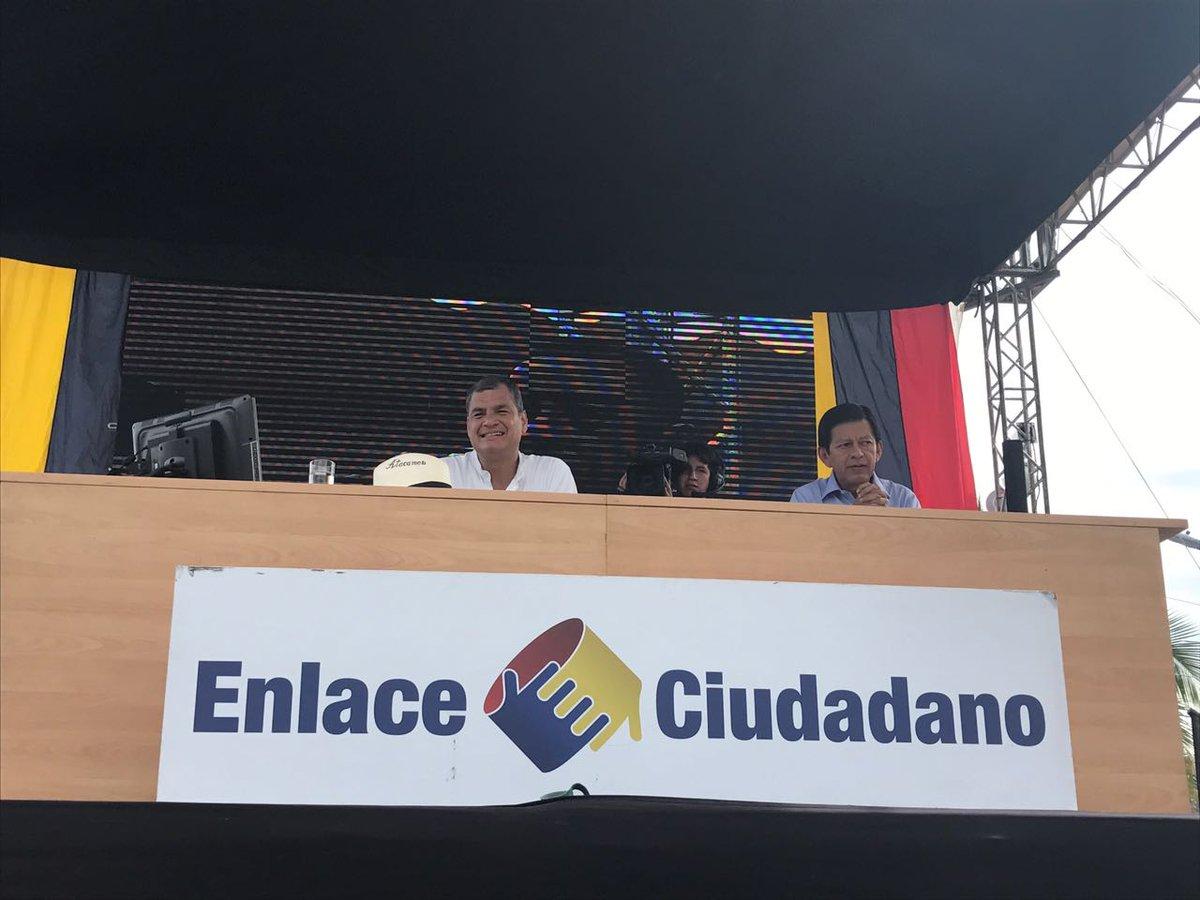 Siga el #Enlace509 con el Presidente @MashiRafael desde #Atacames, por...