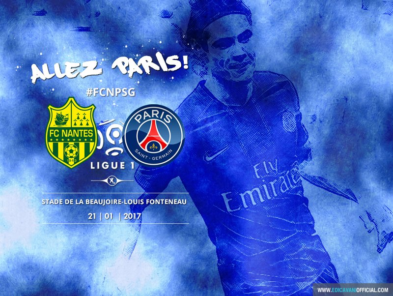 ALLEZ PARIS! #FCNPSG https://t.co/itfrWus14T