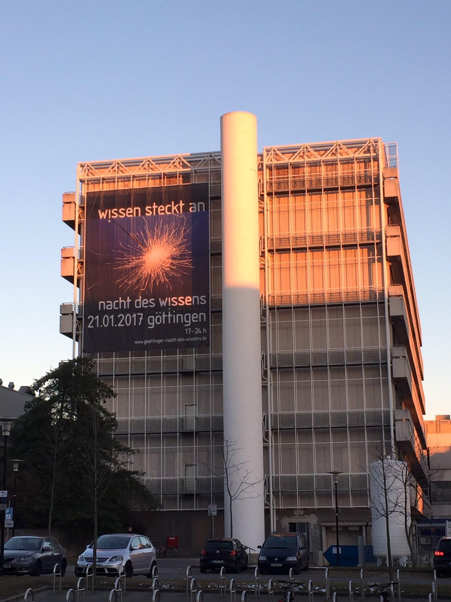 Der Nordcampus ist auf die Nacht des Wissens in Göttingen vorbereitet #ndwgoe https://t.co/OywP9chkFu