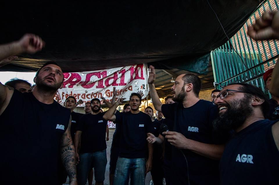 Festival solidario en apoyo de los trabajadores de AGR-Clarín https://...
