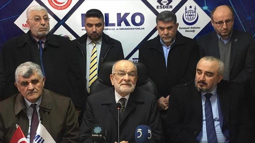 Saadet Partisi'nden flaş Cumhurbaşkanlığı sistemi açıklaması! - https:...