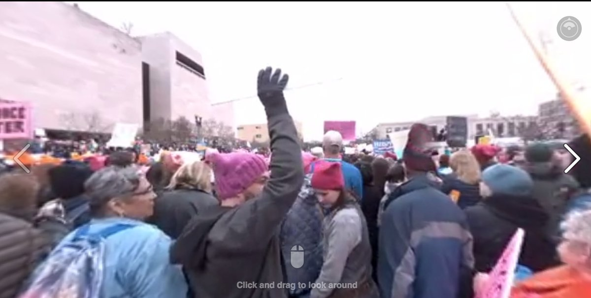 Experience the #WomensMarch LIVE in 360º with @RYOTNews https://t.co/s...