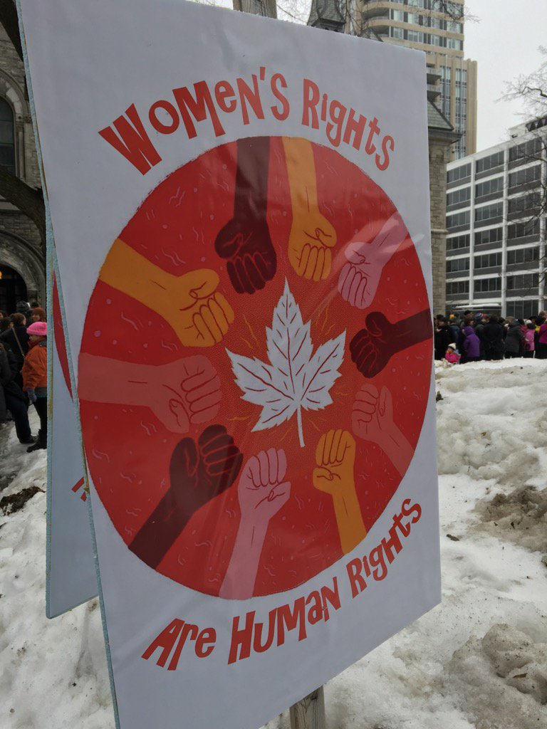 For many, this is the message of today's #WomensMarch in #ottawa and across the globe. #ottnews https://t.co/yUOpjdOfNs