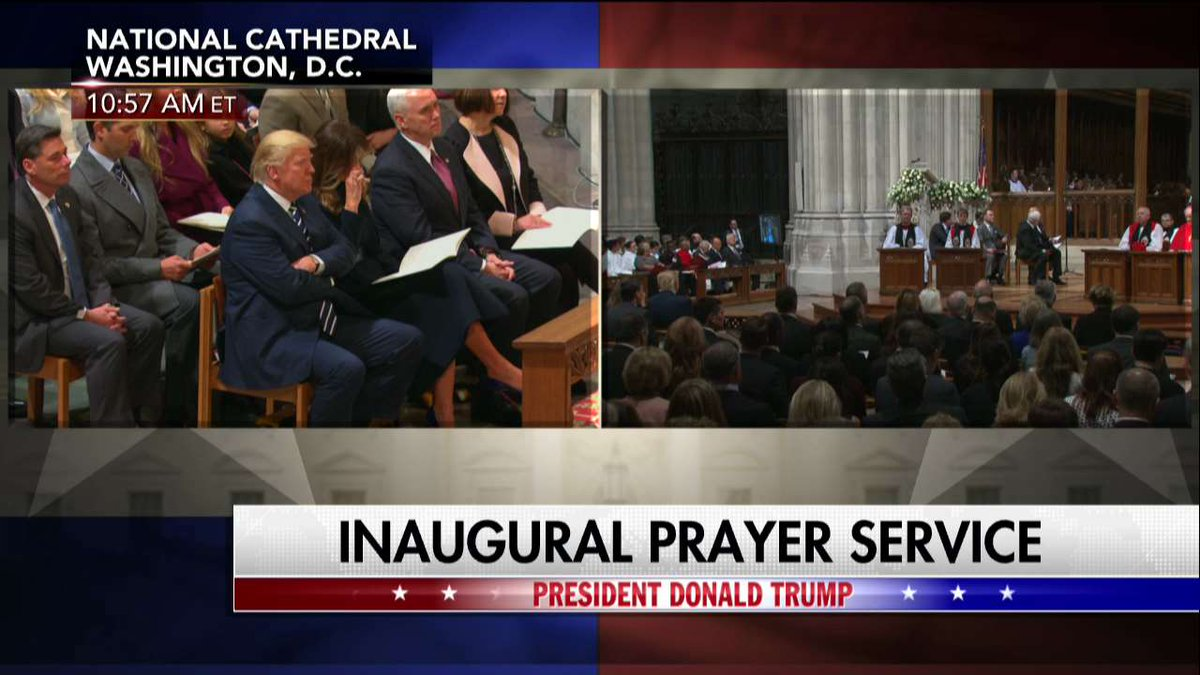 RIGHT NOW - Watch the National Prayer Service live on Fox News Channel...