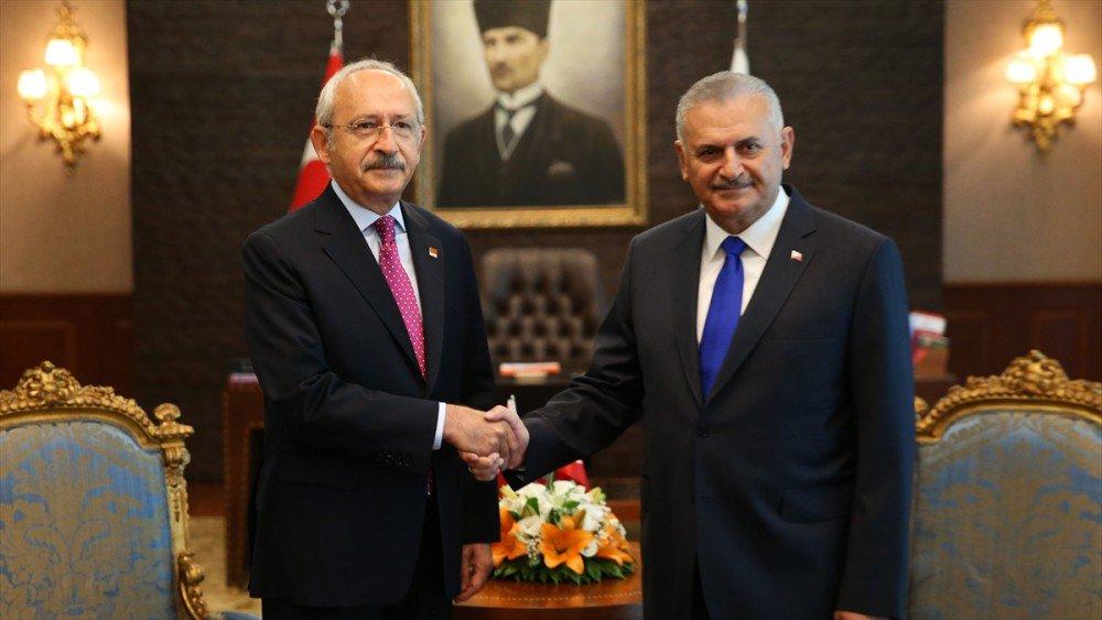 Kılıçdaroğlu'ndan Başbakan Yıldırım'a geçmiş olsun telefonu - https://...