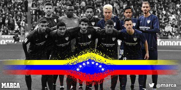 Venezuela toma el Bernabéu https://t.co/VDBUizrSPv Por @hugocerezo htt...