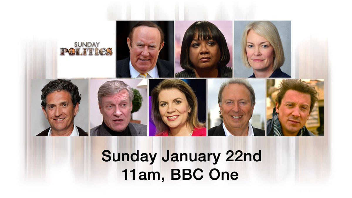 Join Andrew Neil and guests for the Sunday Politics #bbcsp https://t.c...