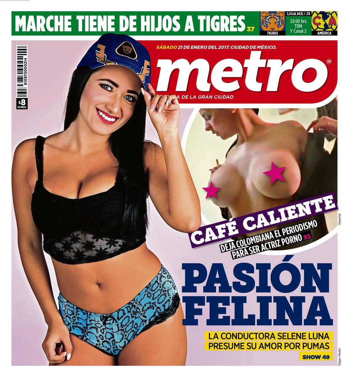 La contraportada del día #Selene #AlejandraOmaña @ClubAmerica @TigresO...