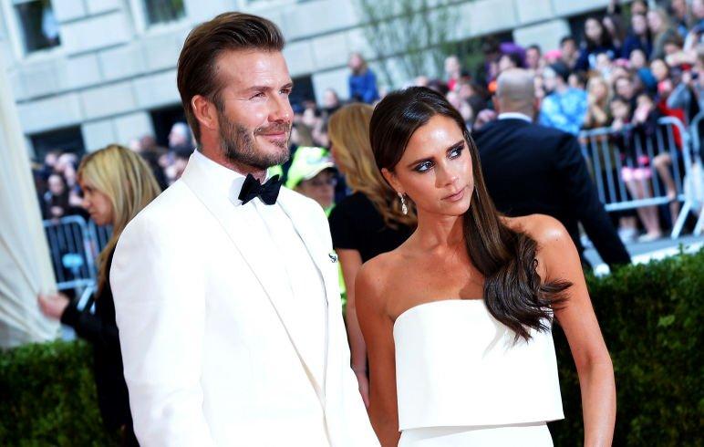 Victoria e David Beckham coppia famosa sui social
