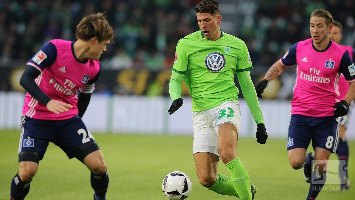 .@Mario_Gomez traf erstmals für den @VfL_Wolfsburg in einem Heimspiel....