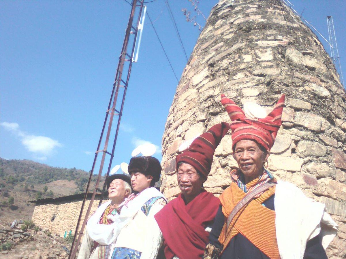 Sartang tribe of West Kameng District in #ArunachalPradesh celebrating #CHIKSA festival.  #AIRPics: RNU PTC