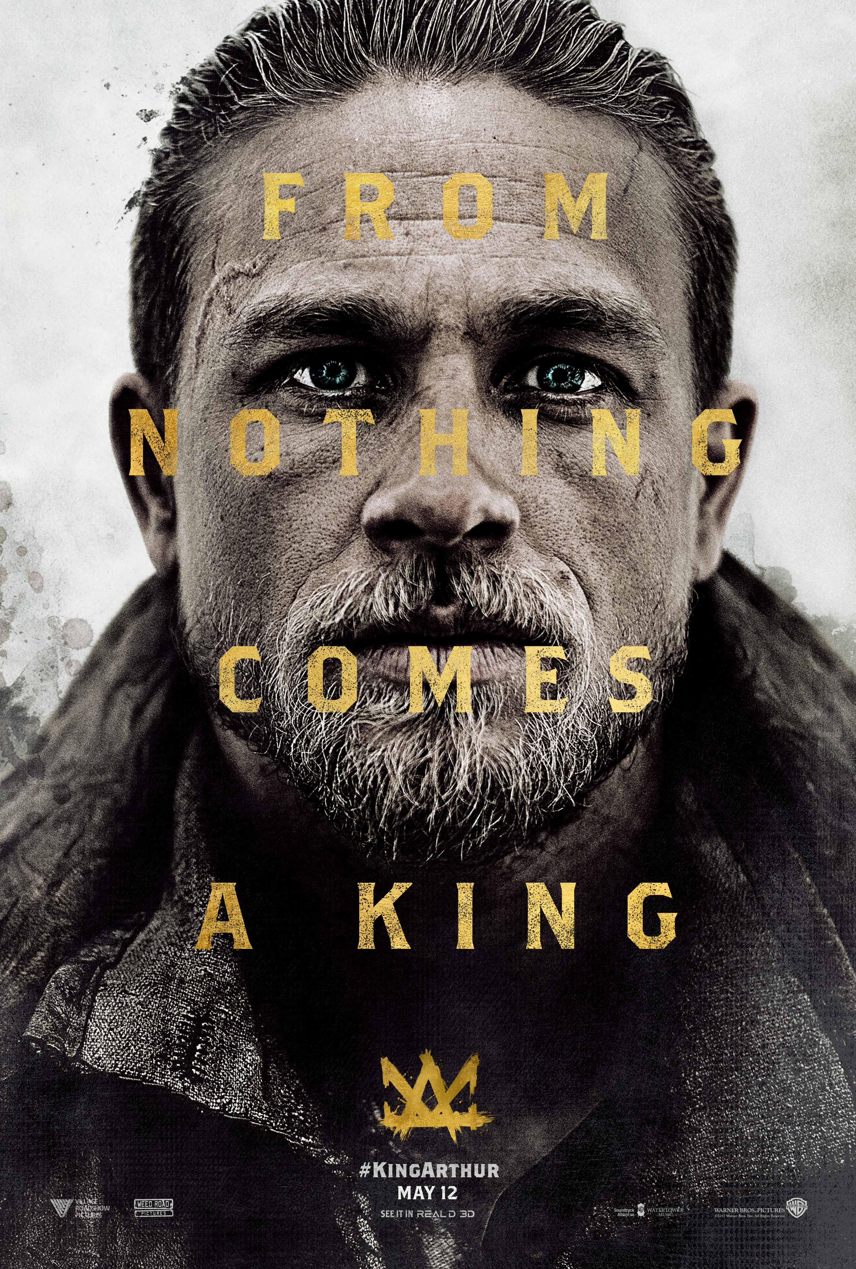 From Nothing Comes A King On This Golden New Poster For KING ARTHUR LEGEND OF THE SWORD