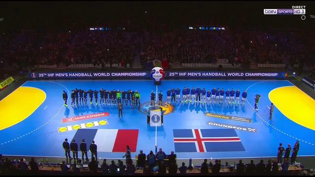 [LIVE] La Marseillaise pour l'équipe de France devant 28 000 personnes...