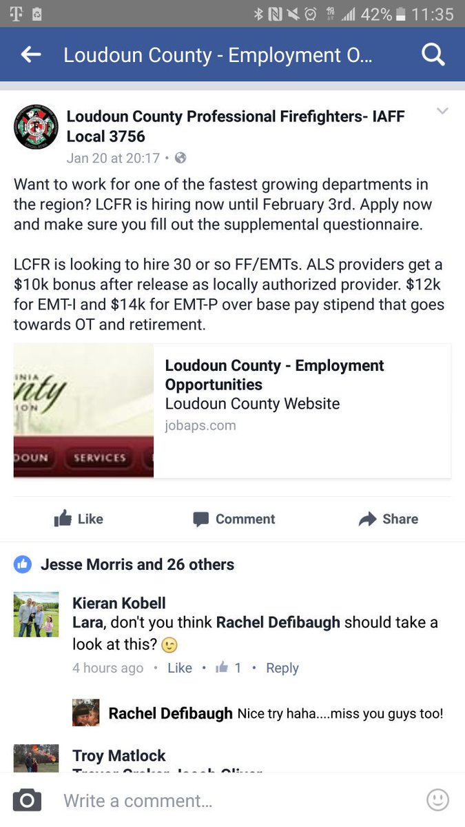 "iaff local 2141 on twitter: ""great pay incentive for loudoun county"