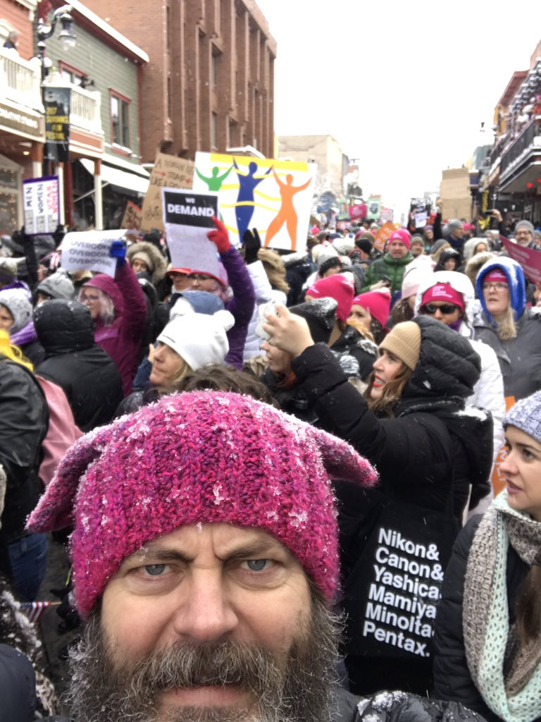 I'm a nasty girl #WomensMarch https://t.co/GjFriucGUY
