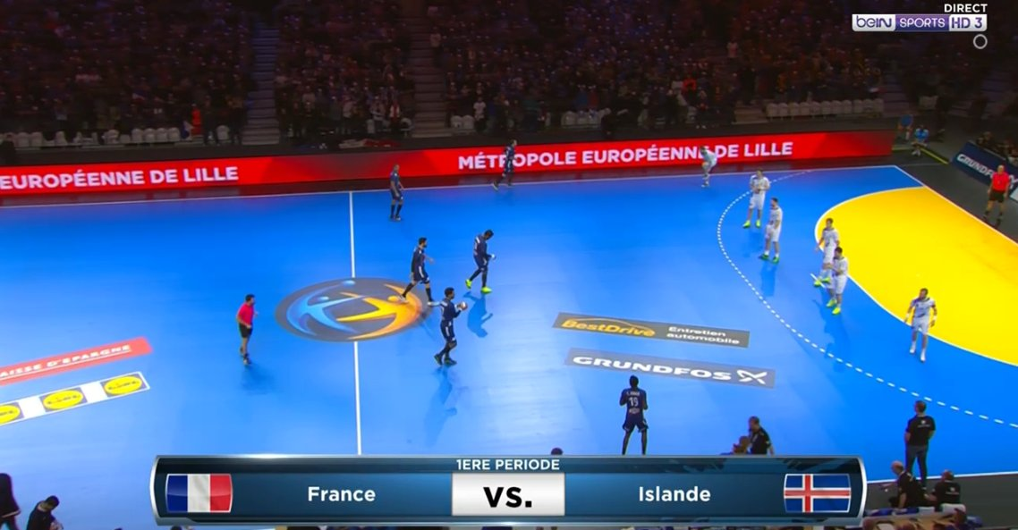 C'est parti !  ALLEZ LA FRANCE ! 💪 🇫🇷 #FRAISL https://t.co/2voJYVoDYn