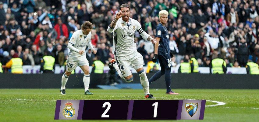 أهداف مباراة : ريال مدريد و مالاجا