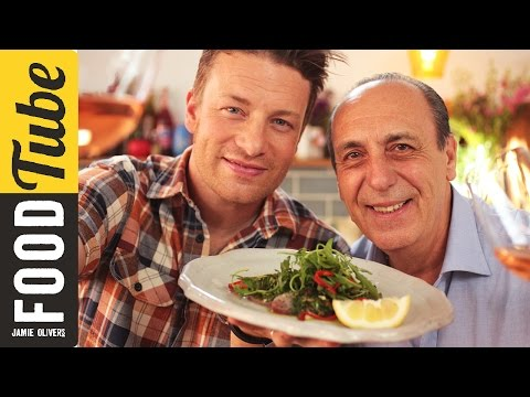 Jamie & Gennaro's Tuna Carpaccio #Food #Jamie #recipes