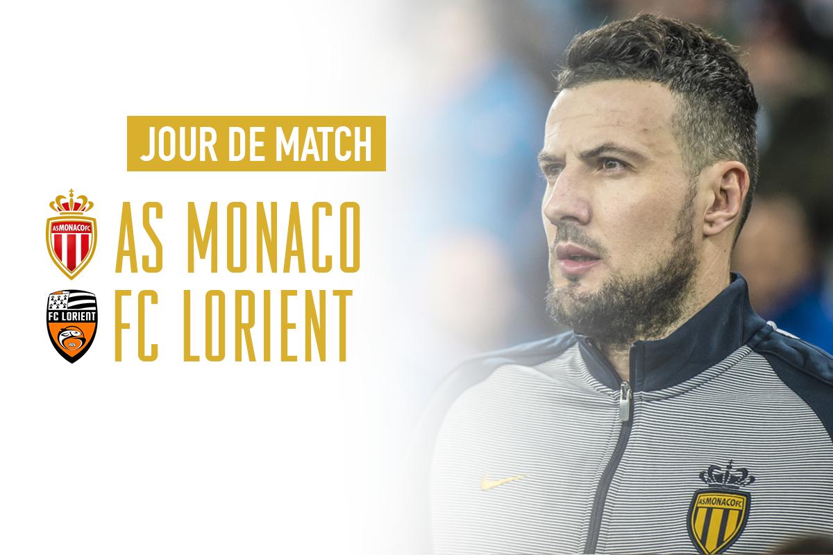 Jour de Match !!! #ASMFCL  ⌚️ 15h00 🏆 @Ligue1 📌 Louis-II 🆚 @FCLorient...