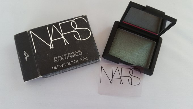 Nars Single Eyeshadow 0.07 oz Full Size New MALACCA 2091 Irridescent Peacock