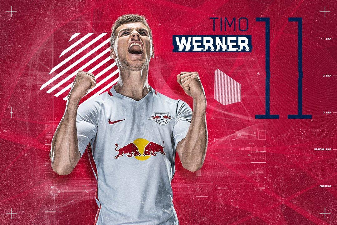 YEEEESSSS!! Timo #Werner!! ⚽️2-0 to #DieRotenBullen! #RBLSGE https://t...
