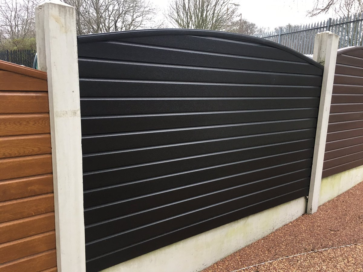 Liniar decking on twitter and new cool black foiled fence panels liniar decking on twitter and new cool black foiled fence panels easily slot into existing concrete posts liniar httpst9qmzic64wy baanklon Gallery