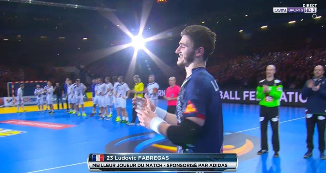 MVP du match : @LudovicFabregas !  #FRAISL https://t.co/jZ6U2Bi6IE