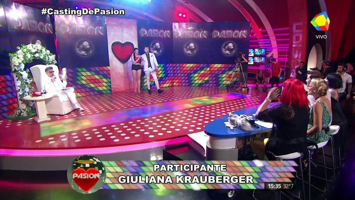 97-60-97  TREMENDA DIOSA en el #CastingDePasion ¡La envidia de @Rosita...