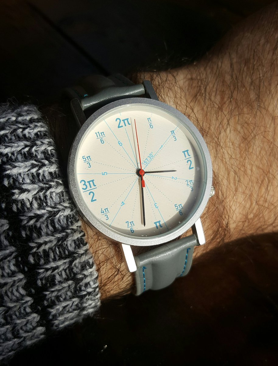 My watch today. A radianT cirCOOL. https://t.co/awV9oiMPN6