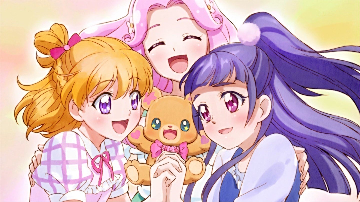 魔法つかいプリキュア  ~fin~  #nitiasa #precure https://t.co/20aFE2D2kz