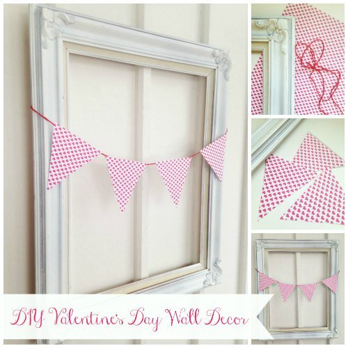 DIY Valentine's Day Wall Décor