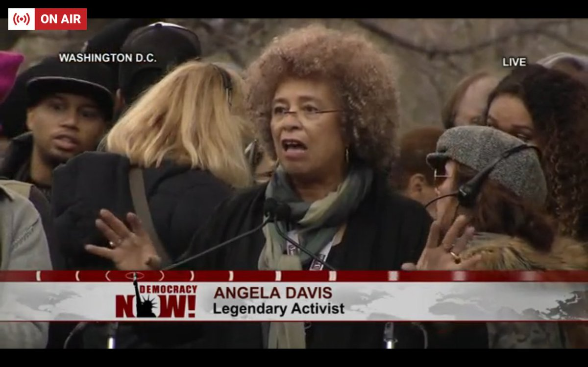 Angela Davis: 'Women's rights are human rights all over the planet, and that is why we say freedom and justice for Palestine'